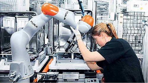 cobot, işbirlikçi robot, iş birlikçi robot, kolaboratif robot, endüstri 4.0