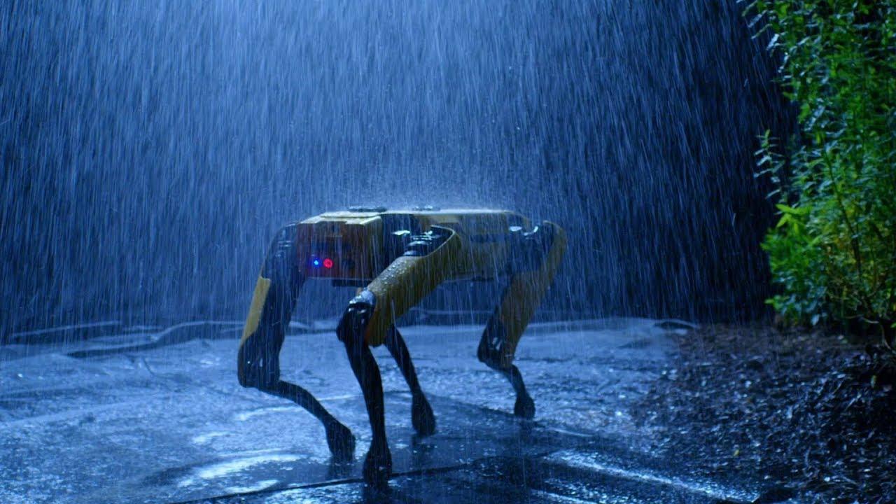 spot, robot köpek, endüstri 4.0, otonom fabrika