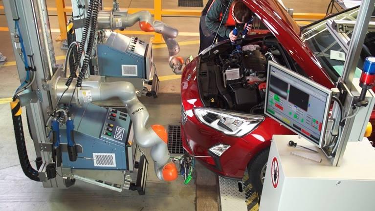 ford kolaboratif robot uygulaması, kolaboratif robot örnek uygulamala