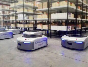 nike, geek+, otonom mobil robot, endüstri 4.0
