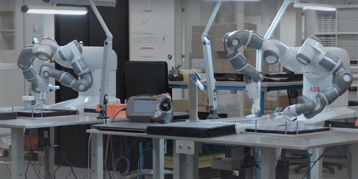 abb yumi, kolaboratif robotik, otonom fabrika, endüstri 4.0