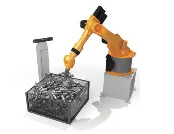robotik bin picking, robotik parça alma, 3b lazer tarayıcı, endüstri 4.0